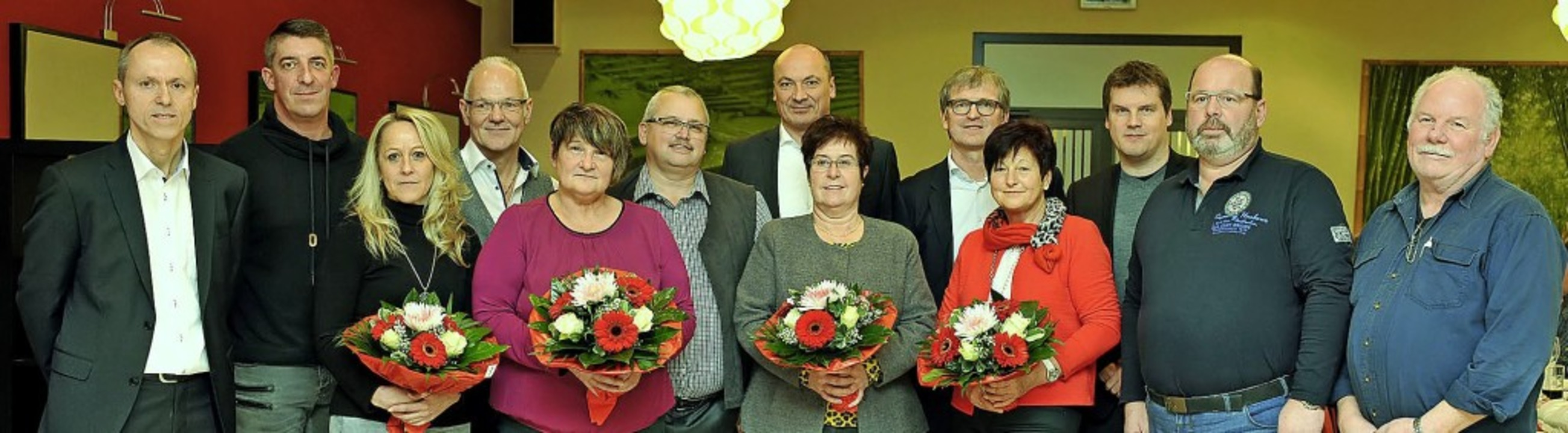 Seit vielen Jahren arbeiten zwölf Frau... Männer bei der Lahrer Firma Zehnder.   | Foto: Endrik Baublies/Firma