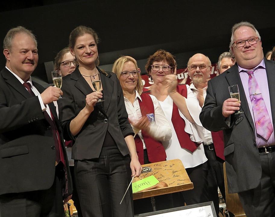Sie ist die neue Leiterin des Konzerto...ig (links) und Michael Huck (rechts).   | Foto: Beatrice Ehrlich