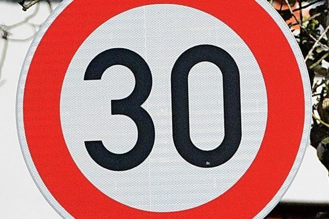Kein Tempo 30 für Schüler