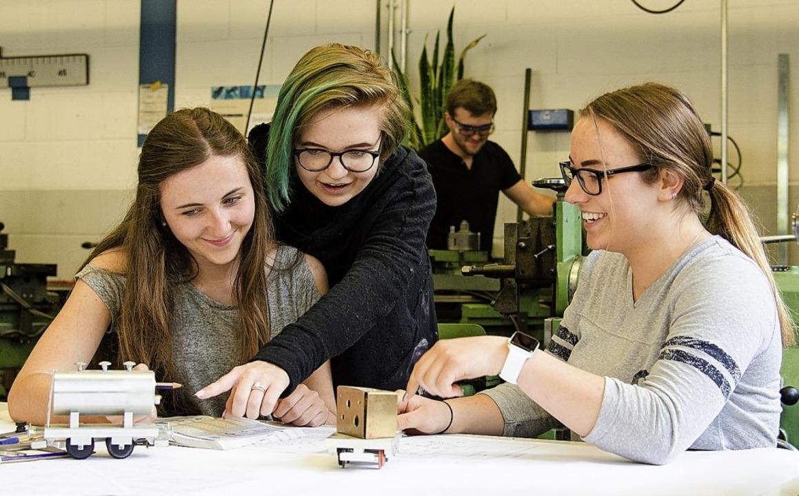 Das Online-Anmeldverfahren gilt auch für das Technische Gymnasium in Lörrach.     Foto: Archivfoto: Schule