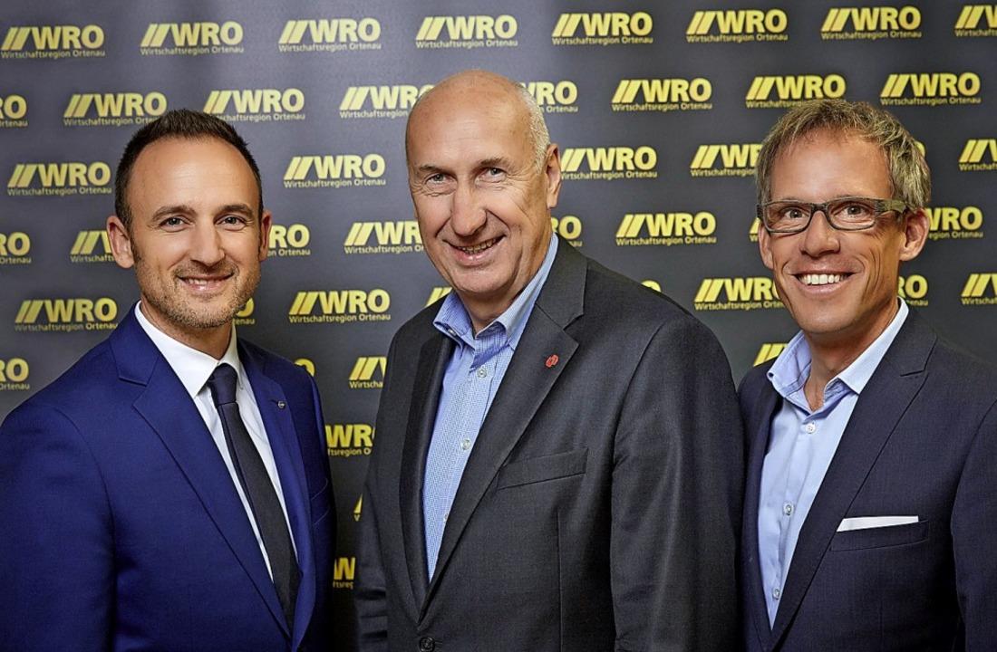 Von links nach rechts: Dominik Fehring... stellvertretender WRO-Vorsitzender).   | Foto: Michael Bode, WRO
