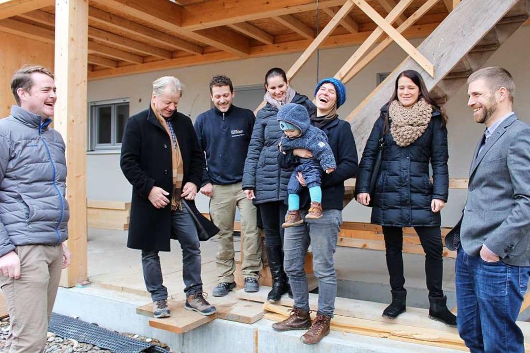 Alle freuen sich auf den bevorstehende... Behning und Markus Eberl (von links).  | Foto: Erich Krieger