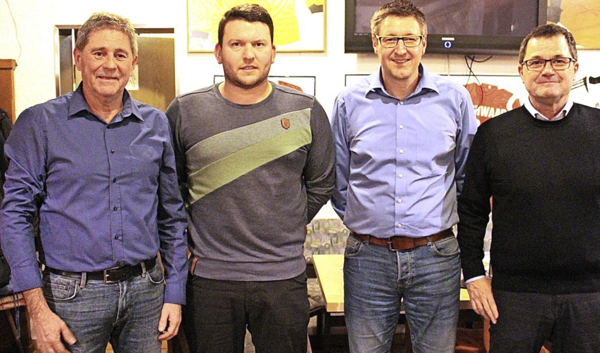 Das Vorstandsteam des FCW: Reinhard Ba...lemm und Hansjürgen Mack (von links).     Foto: Fotos: Jana Fischer
