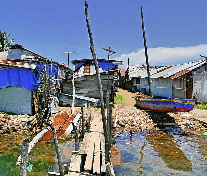 Hütte an Hütte auf der ganzen Insel  | Foto: Lichterbeck