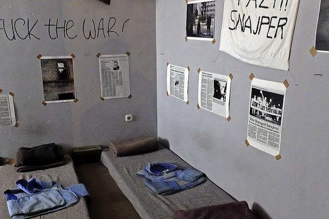 Übernachten im Bunker bei Bombenlärm