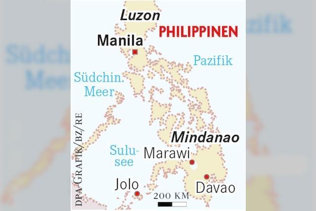 Dutertes Kampf gegen die Extremisten