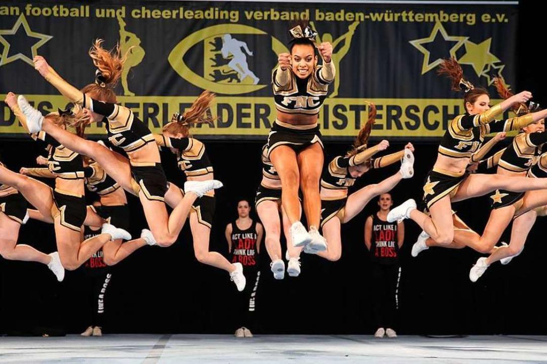Das Cheerleader-Team der Freiburger Tu... Deutscher Vize-Meister. (Archivbild).    Foto: FWTM