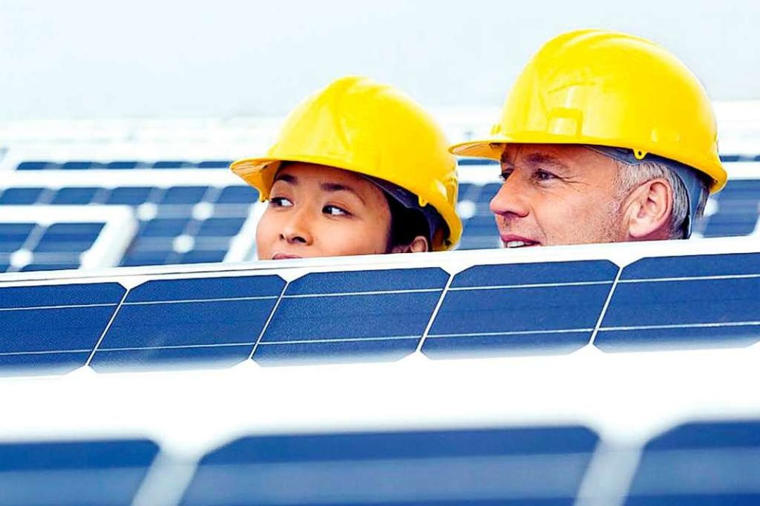 Bei den Solarmessen der FWTM in den USA hapert es.    Foto: Intersolar
