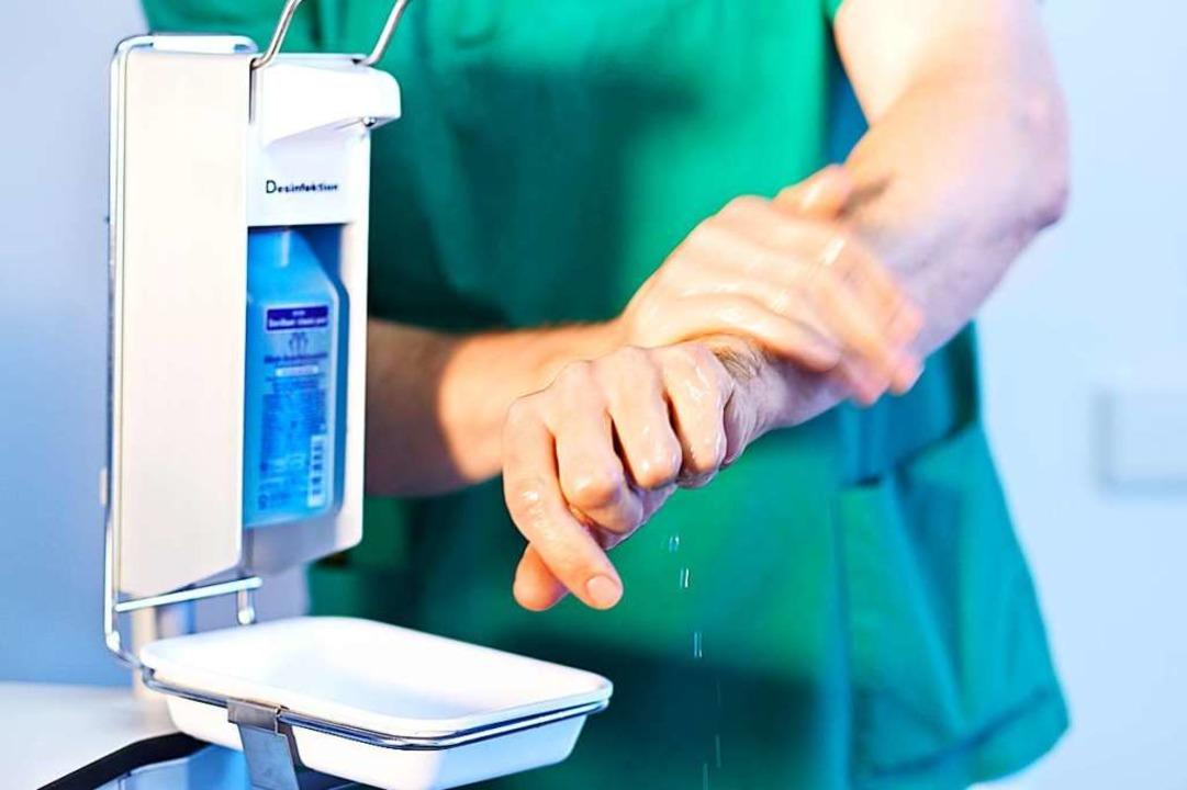 Gibt es genug Schutz vor Ansteckung? D...n der Klinikleitung in Stich gelassen.  | Foto: Landratsamt Emmendingen