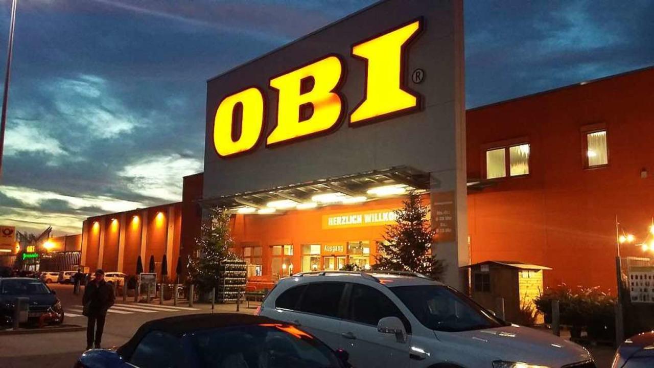 Ein Obi-Markt mit 7500 Quadratmetern V... – soll in Laufenburg entstehen.  | Foto: Martin Köpfer