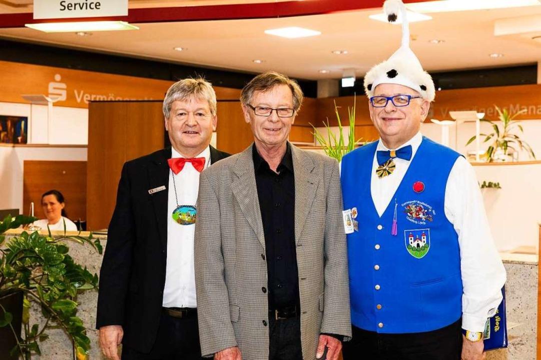 Hugo Ruppenthal, Heinz Opitz und Michael Behringer.  | Foto: Gabriele Zahn