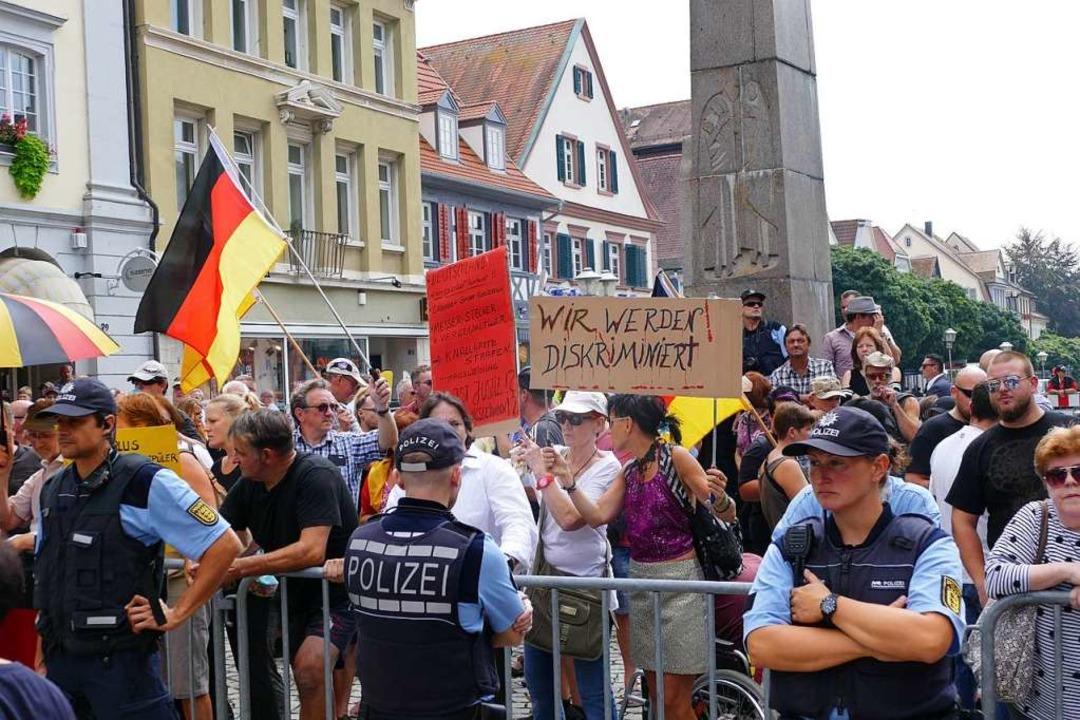 AfD-Kundgebung  | Foto: Helmut Seller