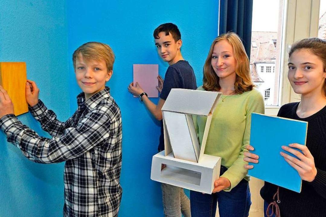 Jugendliche vom Angell-Zentrum haben f... Aartsen (15)und Alma Fröhmcke (13).      Foto: Michael Bamberger