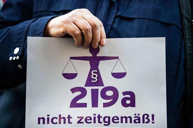 Paragraph 219 a : Die SPD muss widersprechen
