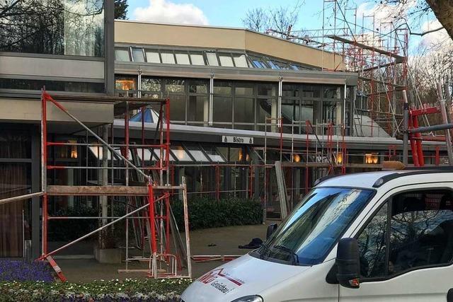 Das Bad Krozinger Kurhaus soll bald in neuem Glanz erstrahlen