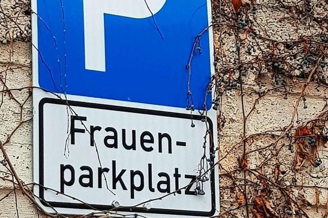 Frauenparkplätze in Emmendigen stehen auf dem Prüfstand