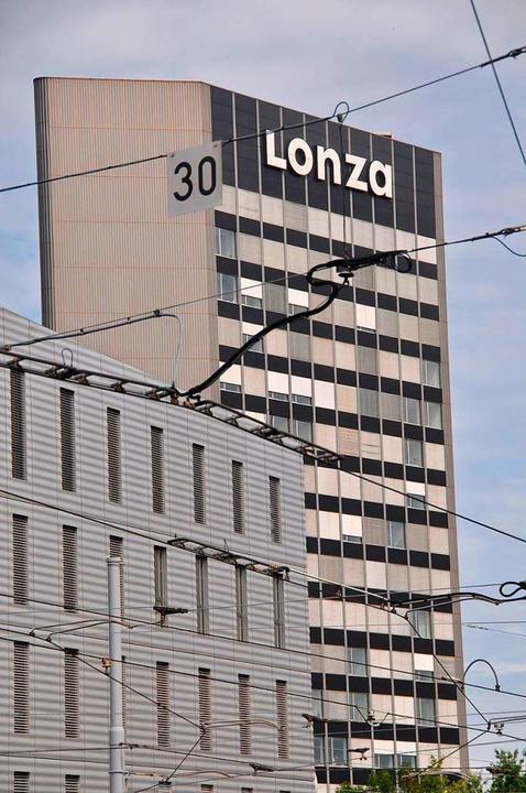 Der Hauptsitz des Konzerns Lonza in Basel    Foto: Daniel Gramespacher