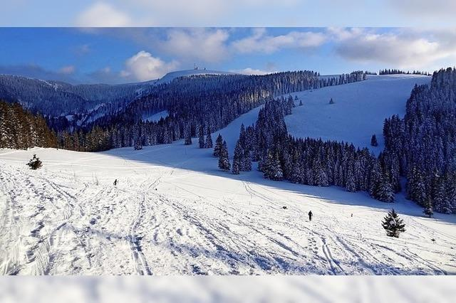 Schneeschuwanderung am Schauinsland