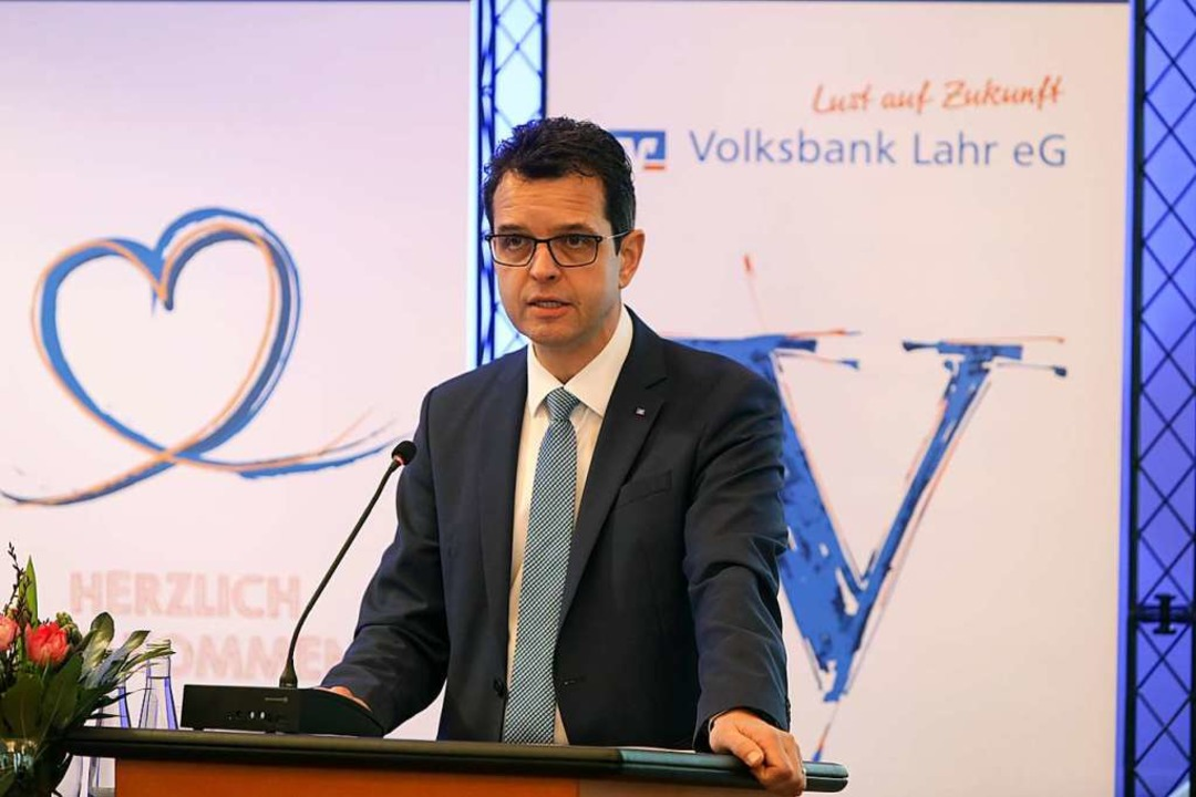 Vorstandsvorsitzender Peter Rottenecker  | Foto: Christoph Breithaupt