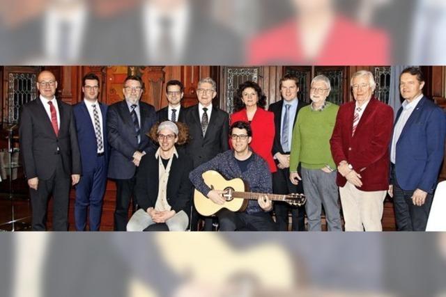 Gitarrenbauer erhält den Gründerpreis
