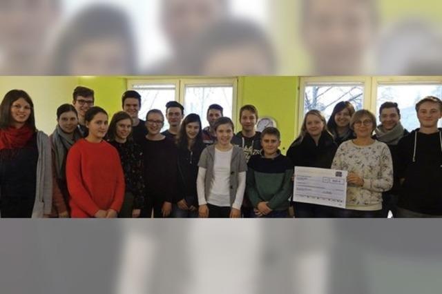 Jugend engagiert sich für Kinderhaus
