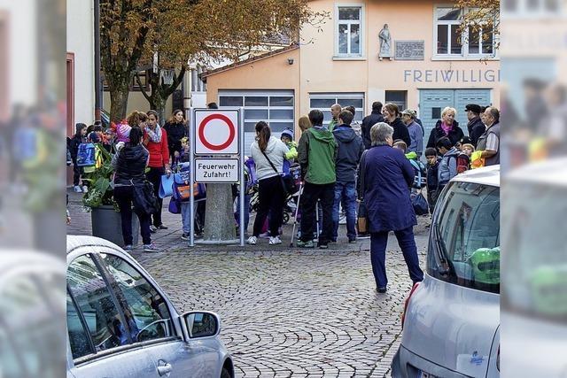 Gefahr lauert vor Schulen