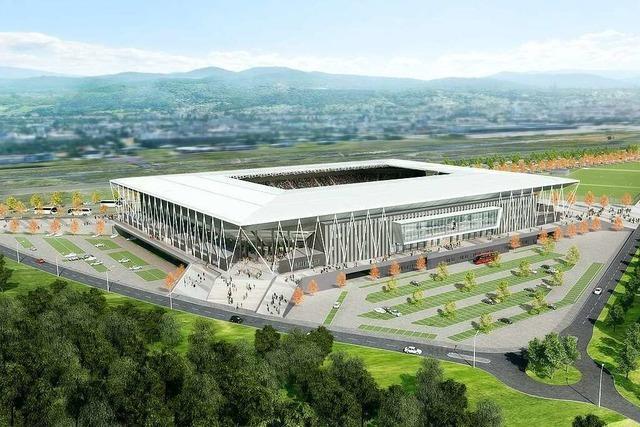 Geschäftsführer Leki spricht bei Kongress über das neue SC-Stadion