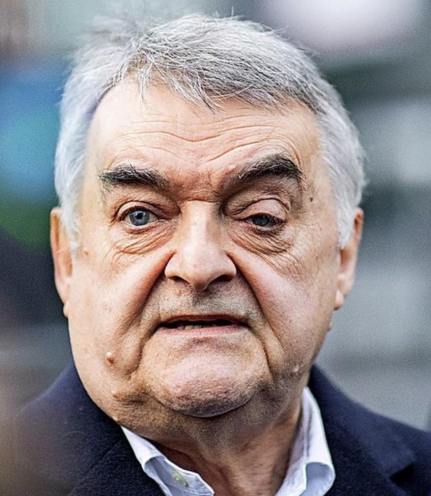 Herbert Reul Linkes Auge