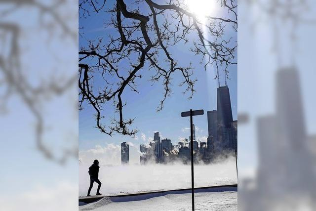 Extreme Kältewelle trifft USA