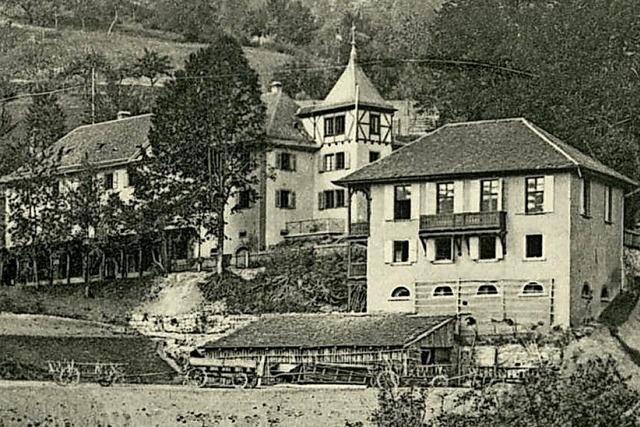Im Glottertal gibt es seit dem 15. Jahrhundert eine Klinik