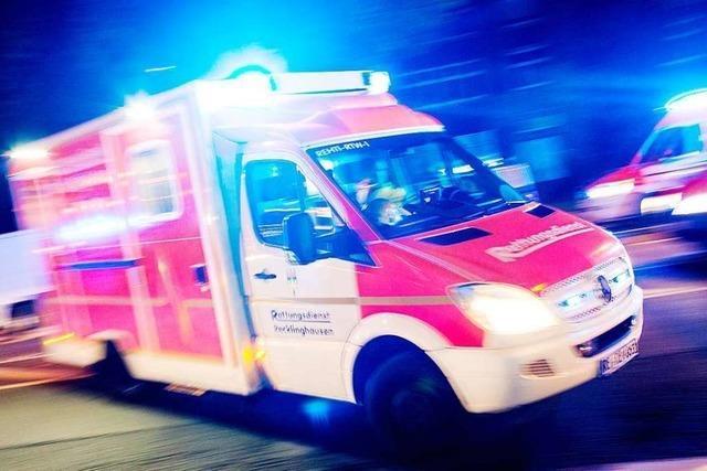 Kind wird in Rheinfelden von Auto erfasst und schwer verletzt