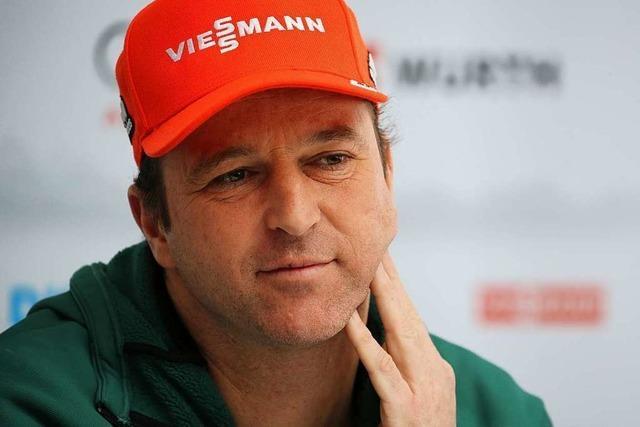 Trainer Werner Schuster hört bei Skispringern zum Saisonende auf