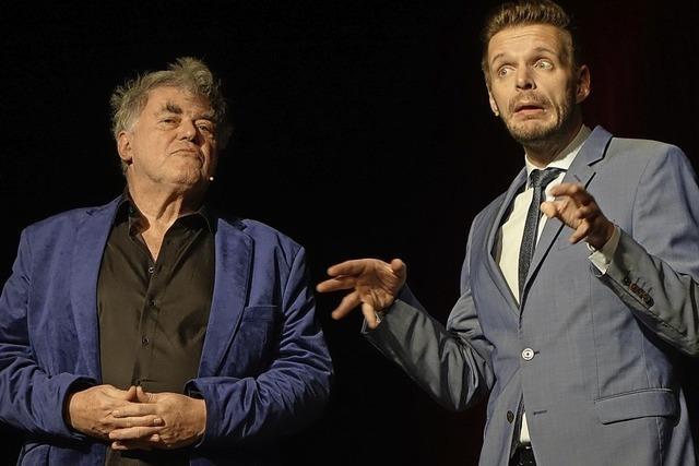 Volkmar Staub und Florian Schröder halten Jahresrückblick in der Stadthalle Waldshut