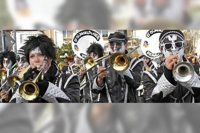 Guggenmusikgruppen in Löffingen-Bachheim