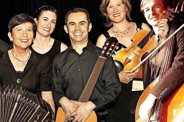 Konzert mit dem Ensemble Tango Sí! in Müllheim