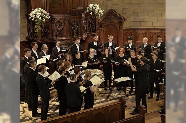 Neogregorianische Gesänge mit den Zürcher Vokalisten in der Christuskirche Rheinfelden
