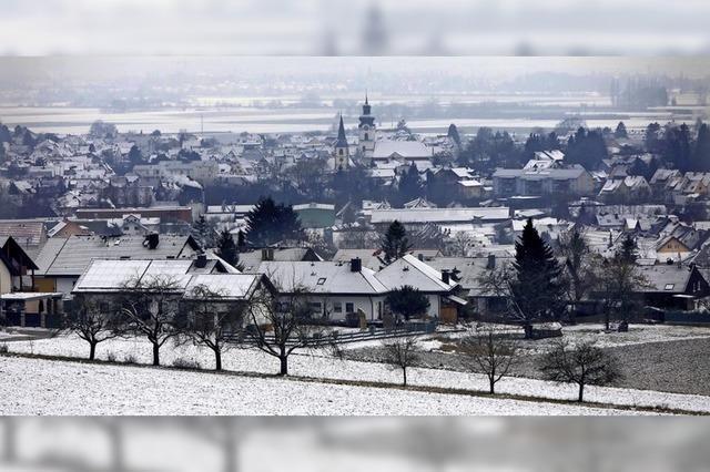 Ein bisschen Winter in und um Friesenheim