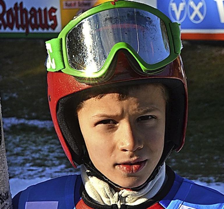 Zweiter in der Kombination: Nico Ketterer von der SZ Breitnau  | Foto: Helmut Junkel
