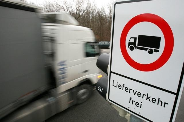 Das Lkw-Fahrverbot für Glottertal und Simonswald kommt