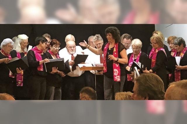Die Freude am Gesang bewahrt