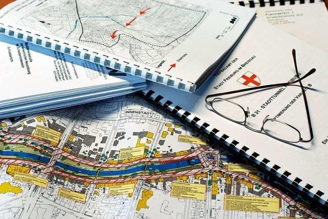 Planung für Freiburger Stadttunnel wandert ab 2021 vom RP zum Bund