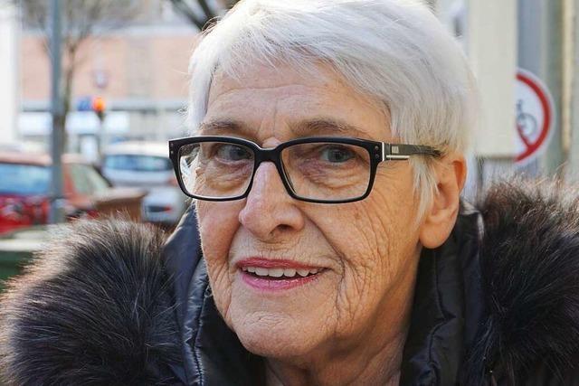 Brigitte Hartmann aus der Oberau: