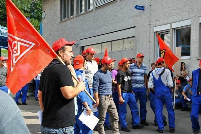 Nachts Streik in Maulburg, Murg und Bad Säckingen bei Global Safety Textiles geplant