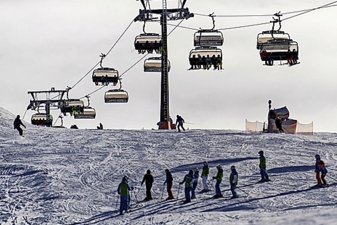 Skifahren am Feldberg bietet viele Möglichkeiten.     Foto: Patrick Seeger (dpa)