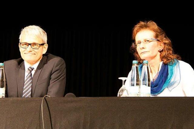 800 Heitersheimer diskutieren mit den beiden Bürgermeisterkandidaten