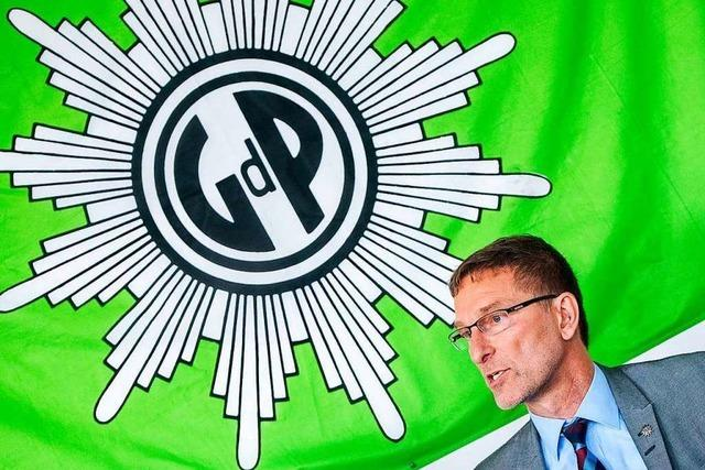 In der Gewerkschaft der Polizei gibt es massive Vorwürfe gegen den Bundeschef