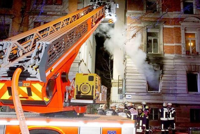Polizei geht nach Brand in muslimischen Gebetsräumen von Brandstiftung aus