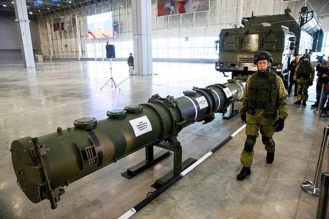 US-Regierung kündigt historischen Abrüstungsvertrag mit Russland auf