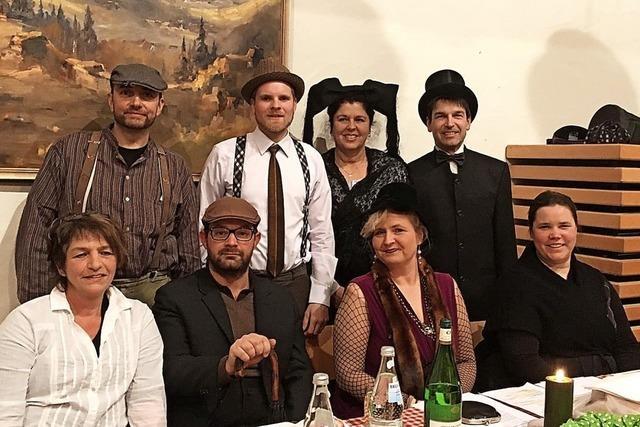 Aufführung der Laienspielgruppe Feldberg in Britzingen