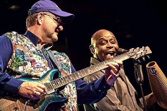 The Magic of Santana gibt Konzert in der Stadthalle Bonndorf